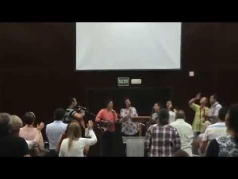 Hosanna Al Rey - Retiro Iglesia Betania En Punta Unbria (03 04 2015) - Sana Doctrinas