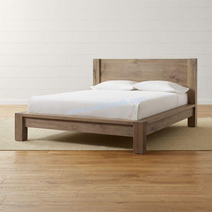 Tempat Tidur Anak Kayu Jati Seri Balok merupakan furniture tempat tidur anak model minimalis dengan bahan baku kayu jati seri minimalis balok dengan warna