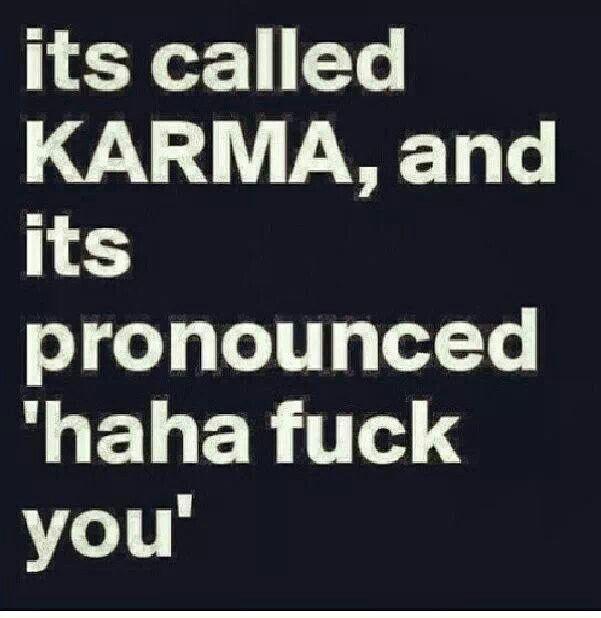 Karma Quote Posters   Via Joanna May