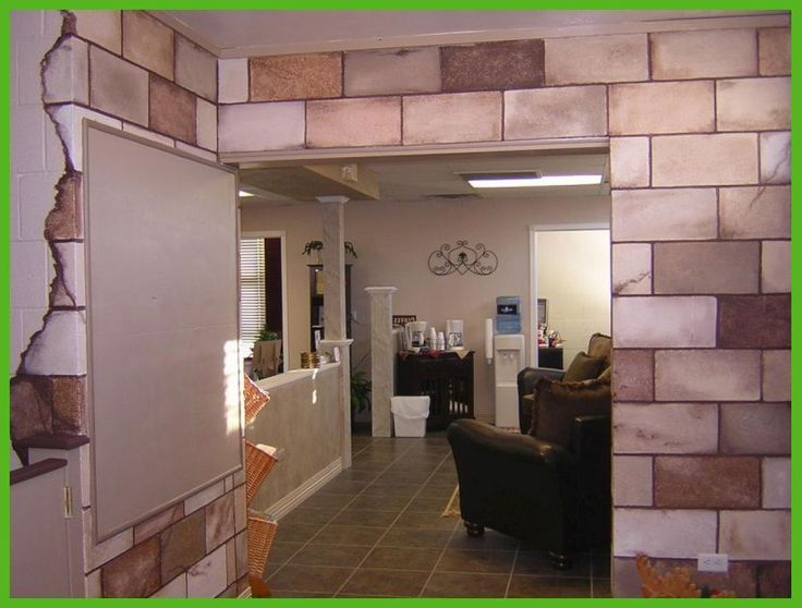 Cinder block basement wall ideas ugly basement ideas for Block basement