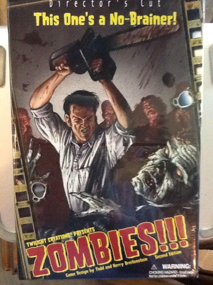 Rpg Board Games Book Jacket Map Zombies