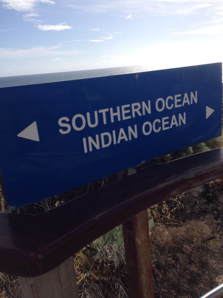 Where the two oceans meet. Augusta, Southwest Australia