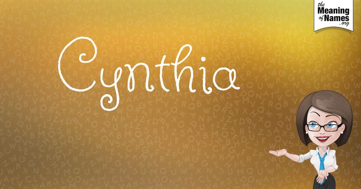 What Does The Name Cynthia Mean?