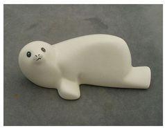 Arabia Finland ceramic seal pup