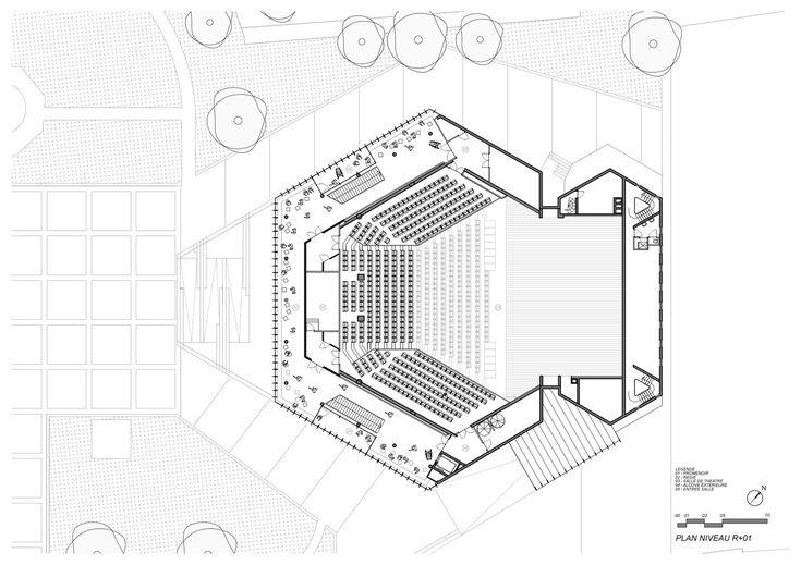 Gallery of Theatre Maurice Novarina Renovation/ WIMM - 23