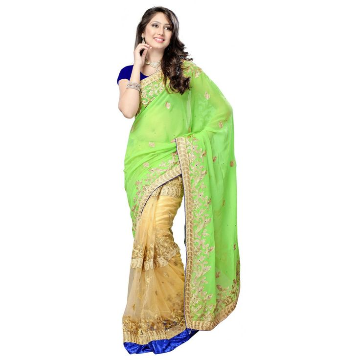 B-Store Green Bollywood Collection Attractive and exclusive saree