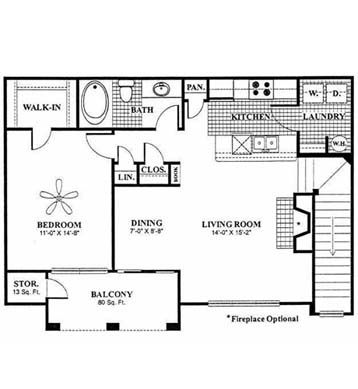 25 best ideas about garage apartment interior on - Laundry room floor plans ...