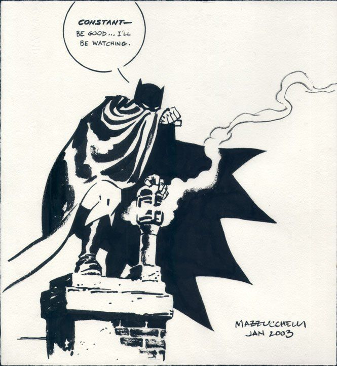 David Mazzucchelli - Batman Year One