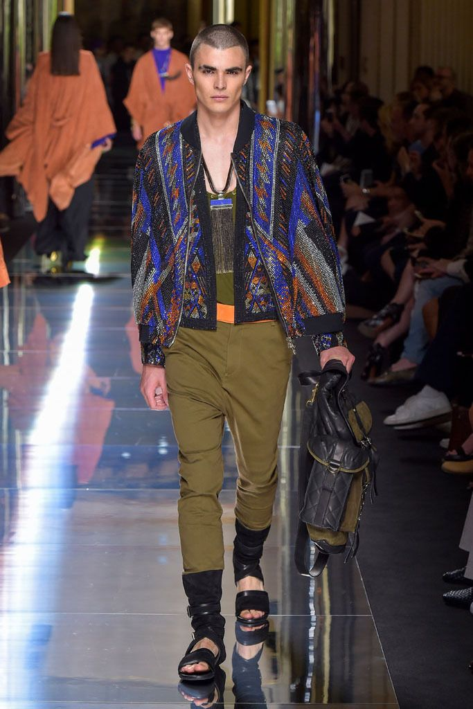 Best Looks! Spring 2017 Collection, Balmain. Follow rickysturn/mens-fashion for the latest trends