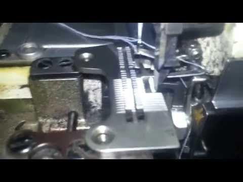 como poner a punto una overlok industrial (bien explicado) - YouTube