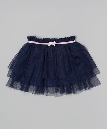 This Navy Sonata Tutu Skirt - Infant & Toddler is perfect! #zulilyfinds