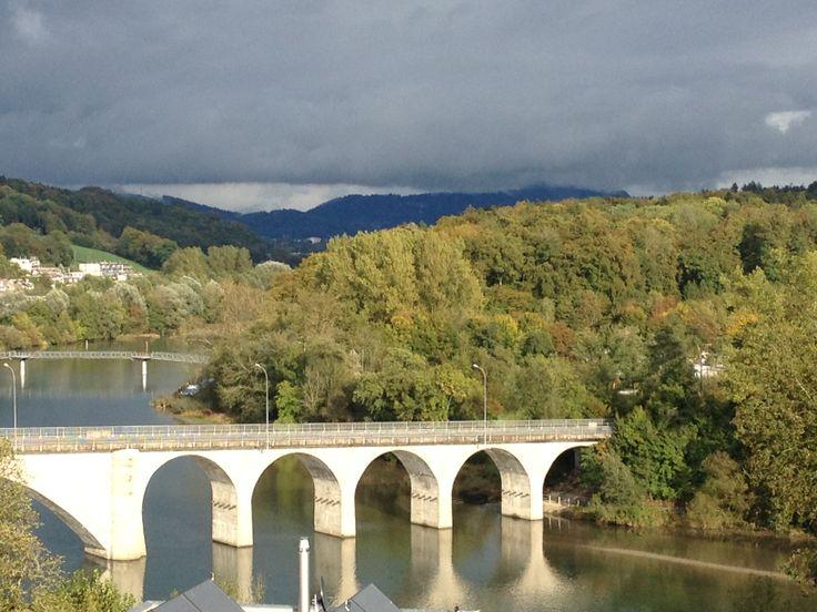 Die Brücke als Land-/Stadtverbindung