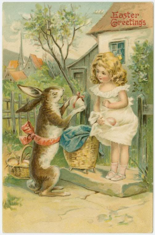 460 best EASTER   PÁSCOA images on Pinterest Bunnies, Easter and - sample easter postcard template