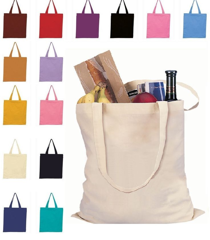 Cotton Reusable Wholesale Tote Bags Available Colors - yo make custom Halloween Bags