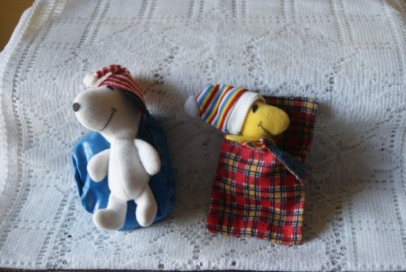 Vintage Mini Snoopy and Woodstock Cloth and by BrindleDogVintage, $16.50
