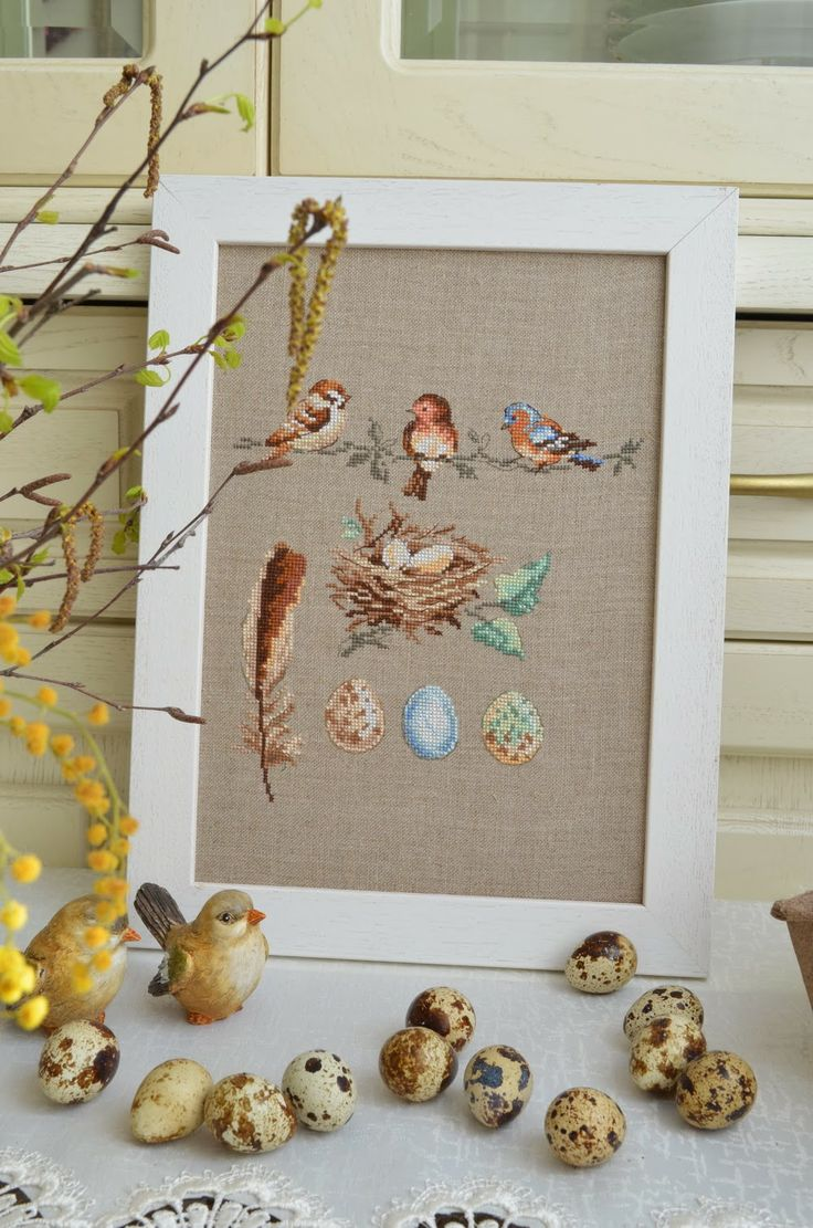 Cross Stitch Birds ( 1 Chart)