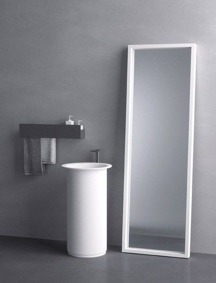 Cristalplant® Design Contest 2014 in collaboration with Agape #bathroom #minimal @Cristalplant Surface @Agape