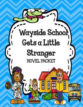 This novel unit bundle for the novel Wayside School Gets a Little Stranger by…