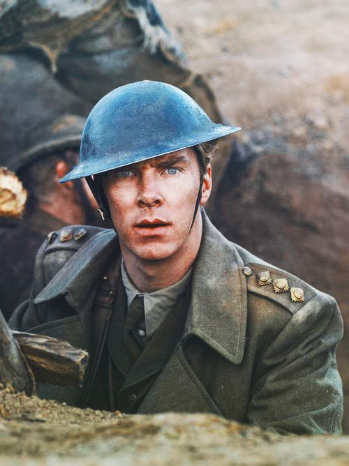 Parade's End, I presume.  His eyes are SO captivating.
