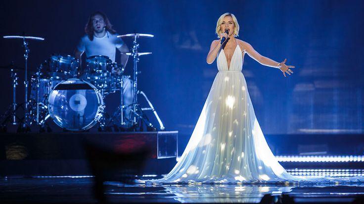 "Russland Polina Gagarina mit ""A Million Voices"""