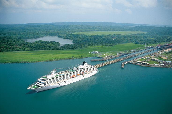 Traversée du Canal du Canal du Panama Celebrity Infinity 27 avril 2015 - 18…
