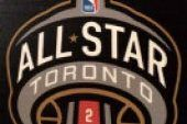 Logo for the 2016 NBA all-star game in Toronto, unveiled Wednesday.