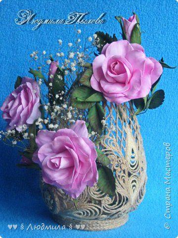 Флористика искусственная Моделирование конструирование ♥♥♥ Новое в красивом старом ♥♥♥ Фоамиран фом Шпагат фото 2