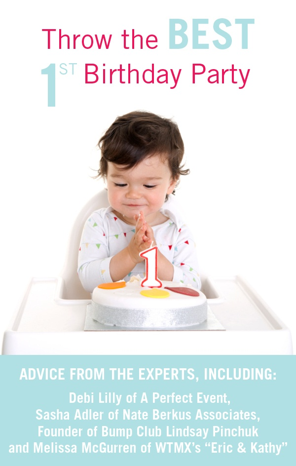 Advice from Chicago tastemakers, and moms!, on how to throw the BEST 1st Birthday Party! #baby #birthdayparty