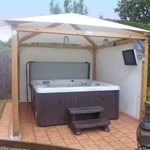1000 Ideas About Hot Tub Gazebo On Pinterest Hot Tubs