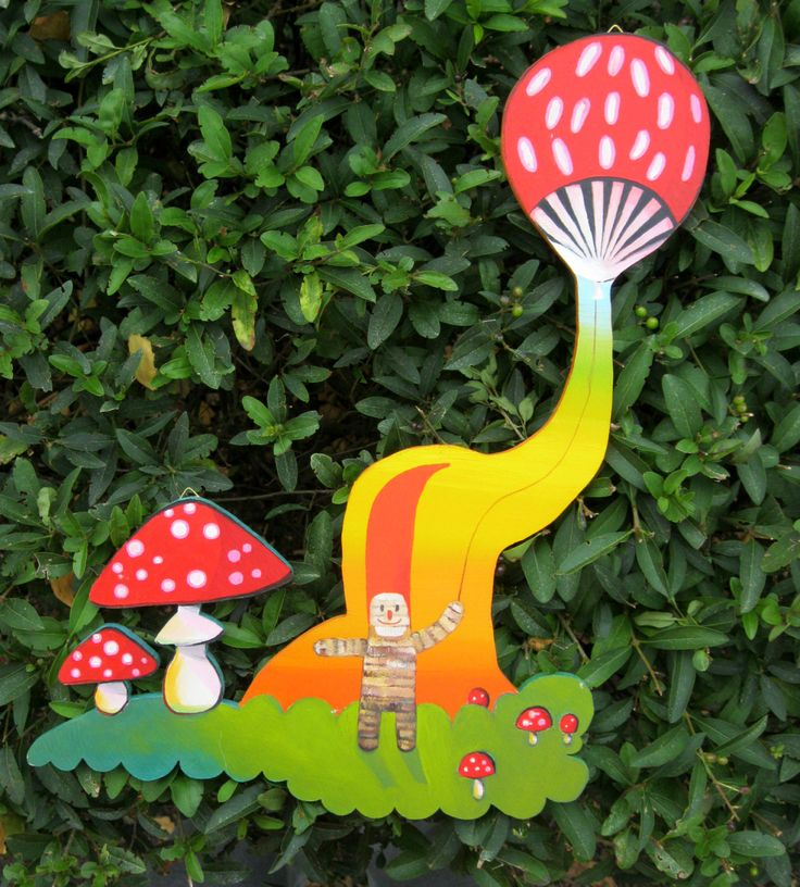 The Ballon Maker cut out hardboard oil by PippiLeePresents on Etsy