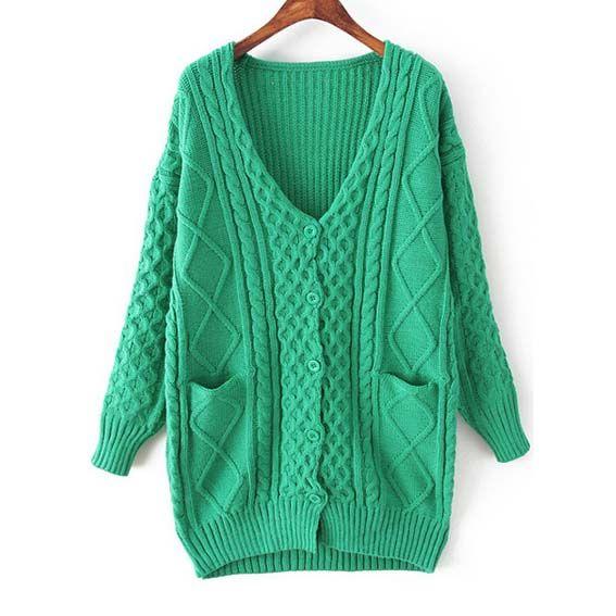 Women clothes fashion V-neck single button design cardigans BD-X6406