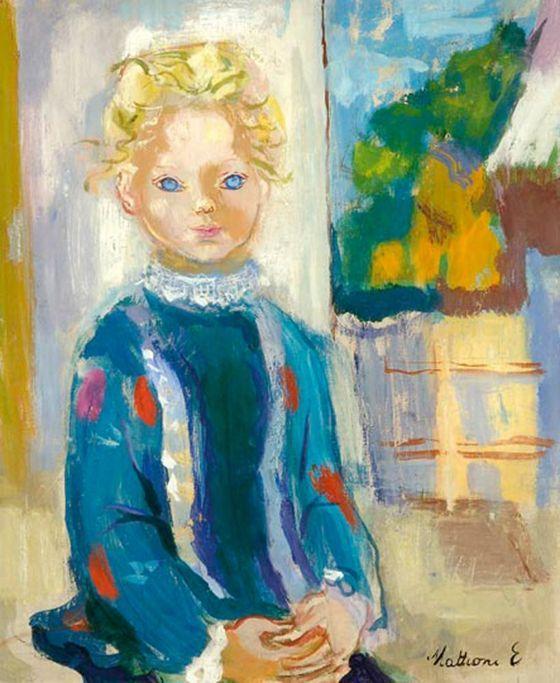 Mattioni, Eszter (1902-1993) - Girl