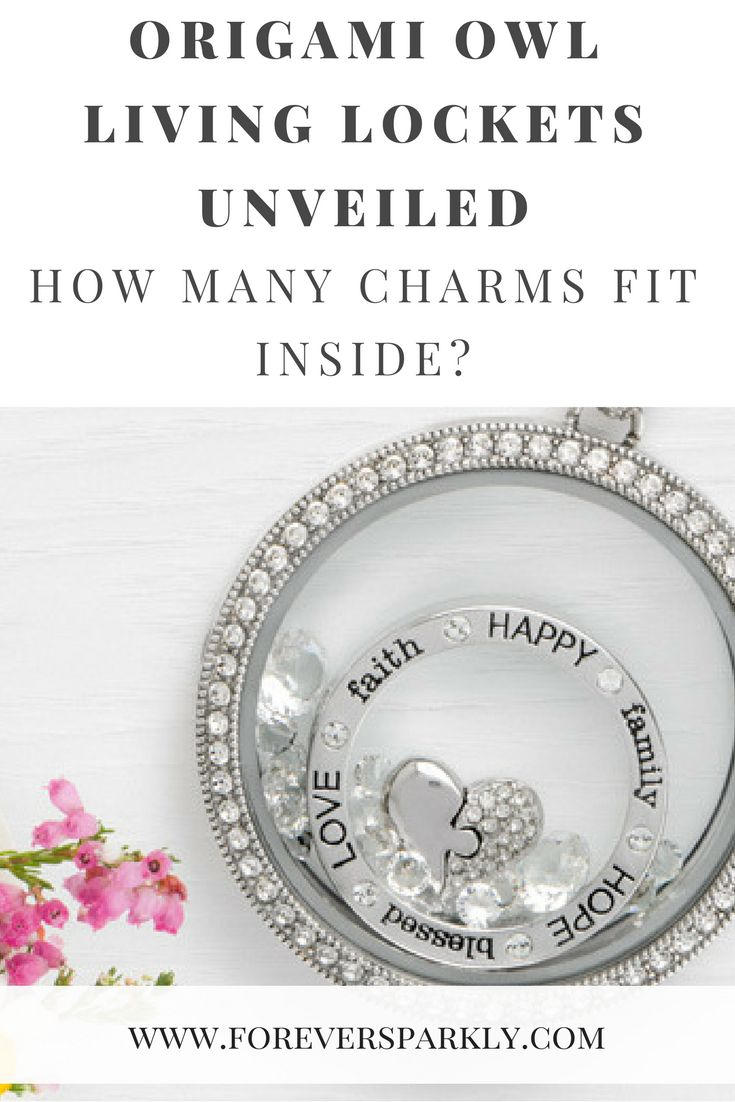 How many charms fit inside an Origami Owl Living Locket? Origami Owl Living Locket | Origami Owl Charms | Origami Owl | Origami Owl Legacy | Origami Owl Discount | Email kristy@foreversparkly.com for a free gift!