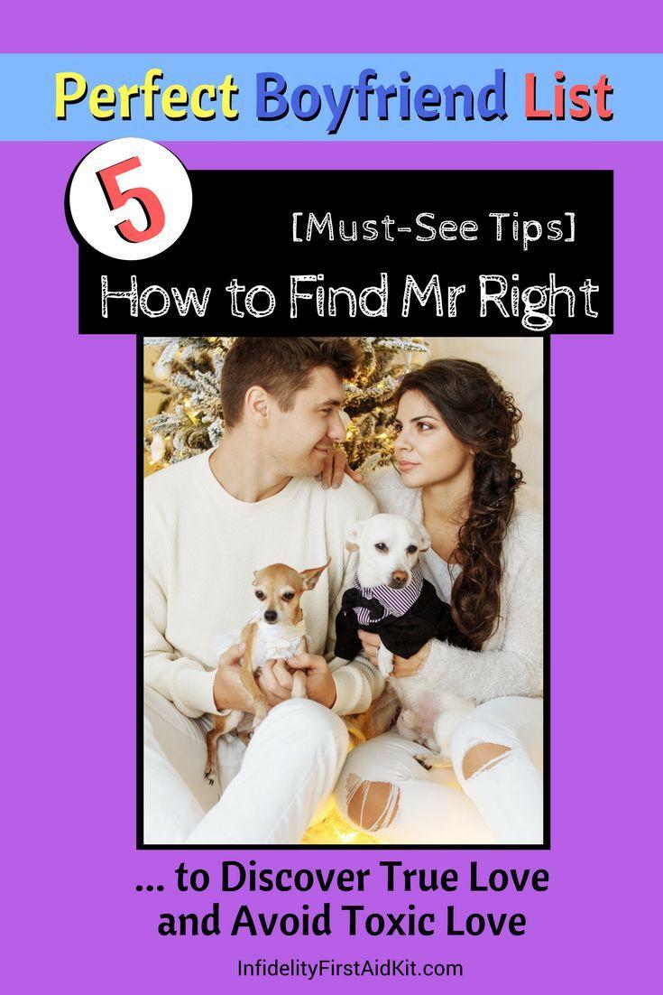 How to find your next boyfriend