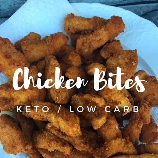 Fried Chicken Bites (kept / low carb)