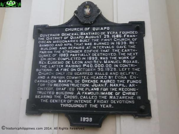 The Church of the Black Nazarene, Quiapo, Manila