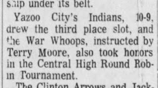 People Aren't Mascots: 1972 Yazoo City war whoops.