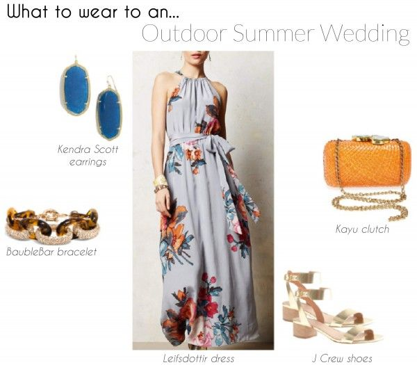 Four perfect wedding guest outfits for spring or summer weddings