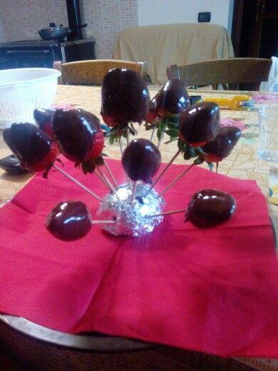 Fragole-cioccolato