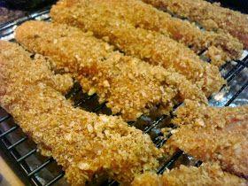 Honeybee Homemaker: Pecan Crusted Chicken Strips