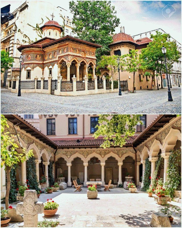 """""""Biserica Stavropoleos"""" este o biserică ortodoxă, construită în stil brâncovenesc, în centrul orașului București - România. Hramul biserici..."""
