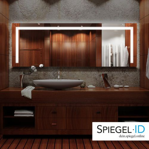 74 best spicchi led images on Pinterest Bathroom, Home ideas and - badezimmerspiegel mit led