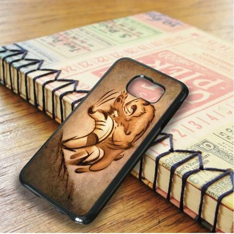 Wolverin Fight With Tiger Samsung Galaxy S6 Edge Plus Case
