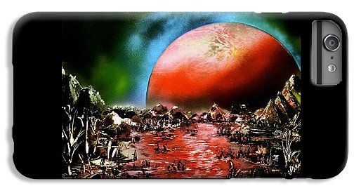 Printed with Fine Art spray painting image The Other Land by Nandor Molnar (When you visit the Shop, change the orientation, background color and image size as you wish)