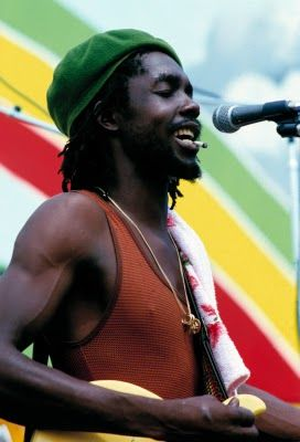 Peter Tosh (18 October 1944 - 11 September 1987) was a Jamaican reggae musician who was a core member of the band The Wailers (1963 - 1974), and who afterwards had a successful solo career as well as being a promoter of Rastafari. He was murdered in his home during a robbery