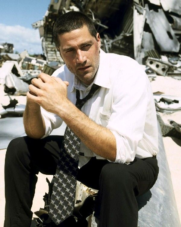 Re-watching Lost. Jack is still my favorite character, he reminds me so much of my love, Mark. Practical, loving, strong, willing to take leadership. Plus he's an eagle scout so I feel safe all the time <3