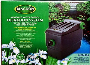 Blagdon Minipond Combo Bio/UVC Filter