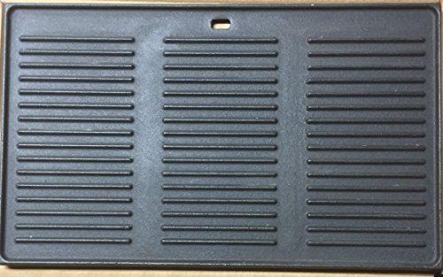 GP2 XXL Grillplatte aus Gusseisen / ca. 48,7 x 29,6cm / Wendeplatte / Pizzaplatte / F�r Gasgrills - F�R PROFIS NEU/OVP