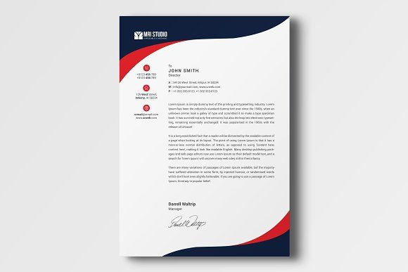 Best Corporate Letter Head Templates Images On
