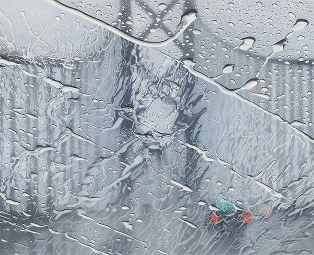 I LOVE THIS because it's how I see the world when it rains.    Mesmerizing Drawings Feature Rainy Day Distortions - My Modern Metropolis